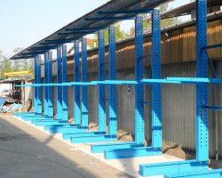 Cantilever 1 con tettoia