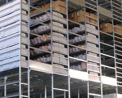 Scaffalature multipiano per archivio
