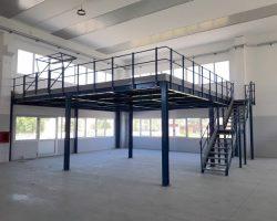 Soppalco 10x10m