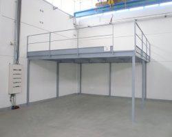 Soppalco 5x5m