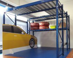 Soppalco box auto - Soppalco garage - Sistema srl Collegno - TORINO